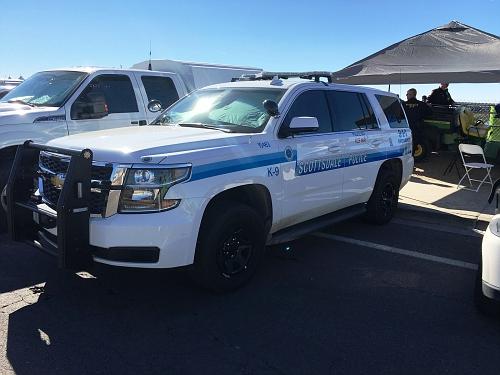 AZ- Scottsdale Police 2015 Chevy Tahoe