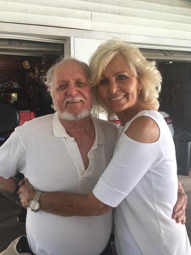 #13-Brother & sister; Billy Ray Hutson and Linda Gail HUTSON Clark - 2017