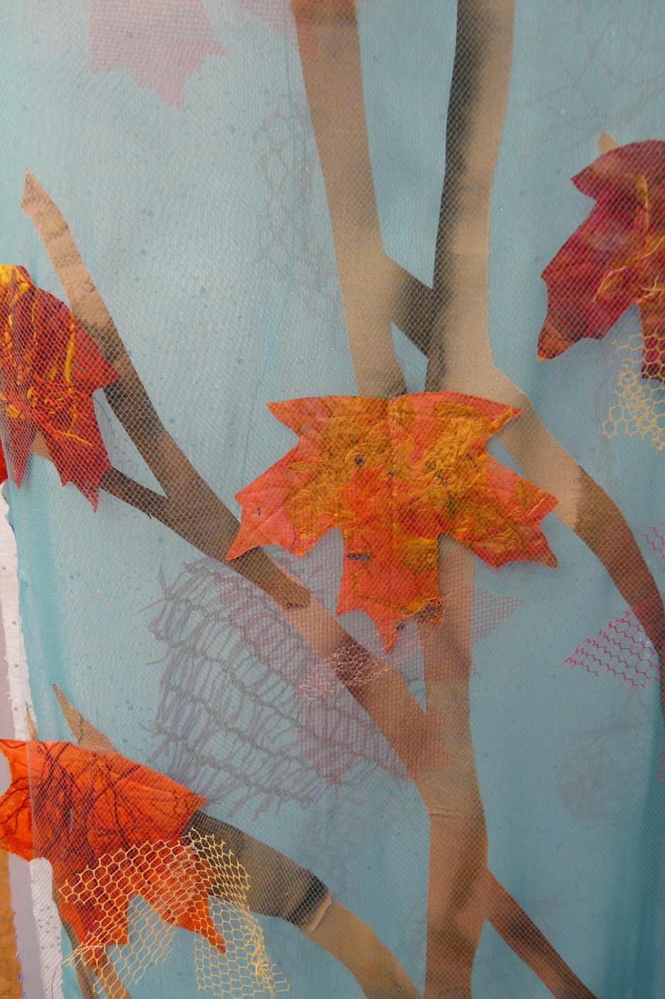 October: Azure, detail 2