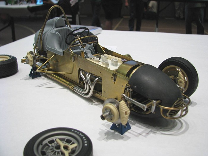 Sprint Car Model Resin Parts