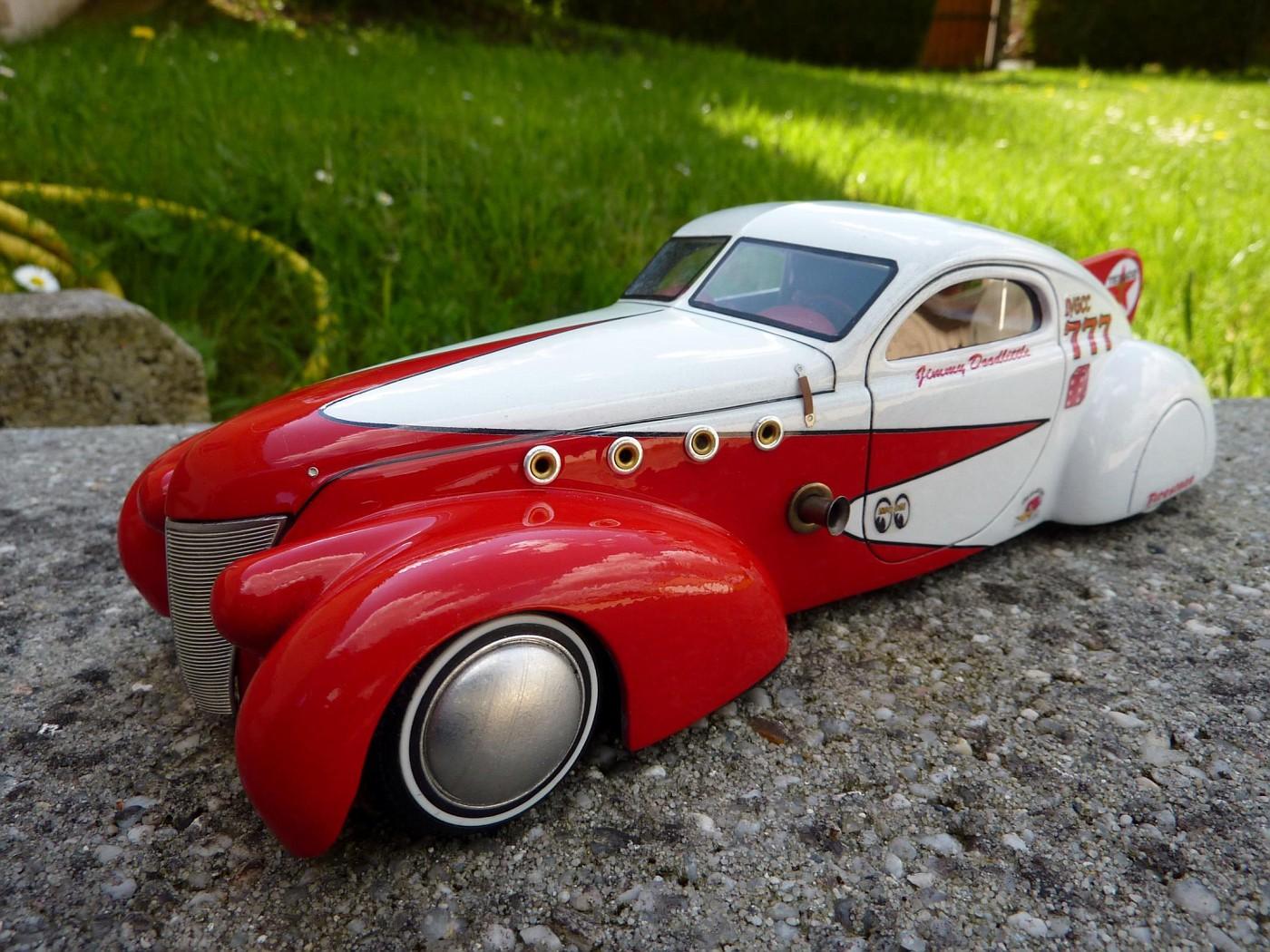 Ford T Bird Pickup racer Bonneville ( Ex Nascar) terminée  - Page 2 Photo18-vi