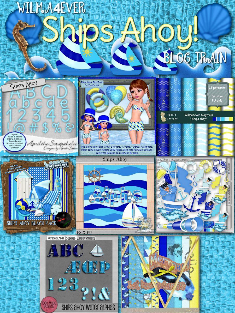 Wilma4Ever Ships Ahoy Blog Train