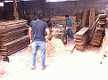 Visiting Beekeepers in Guatemala.  Here is one of the Woodenware shops.