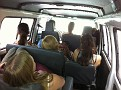 A weekend trip to Semuc Champey, Guatemala.  10 of us and the driver crammed into a little tour van for 6 - 7 hours each way...