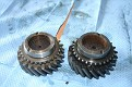 comparison 2nd speed gear new old