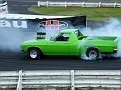 Grasscutter Holden HQ Ute Burn Out 005