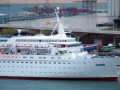 Coral Arriving at Barcelona 2 Aug 2005