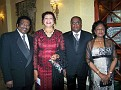 Dr Reginald  and  Mrs Bernadette Crosley,Dr Christian and Mrs Marlene Lauriston.