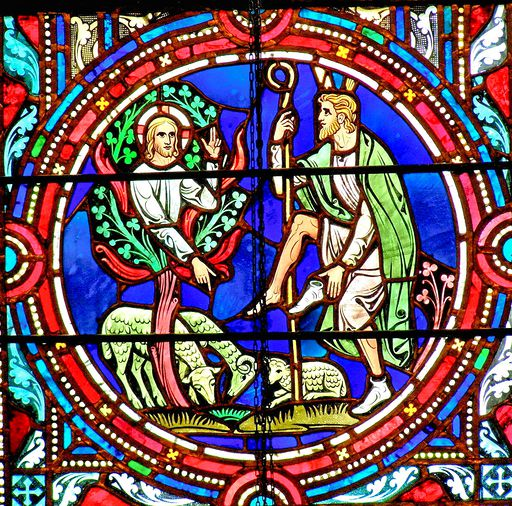 SAINTS PETER AND PAUL CHURCH - STAINED GLASS - 15