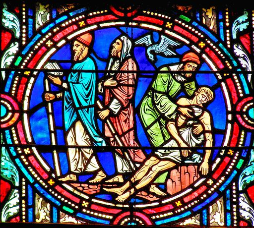 SAINTS PETER AND PAUL CHURCH - STAINED GLASS - 53