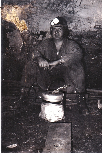 Billy M. Austin, in a Kentucky Coal mines (now retired)