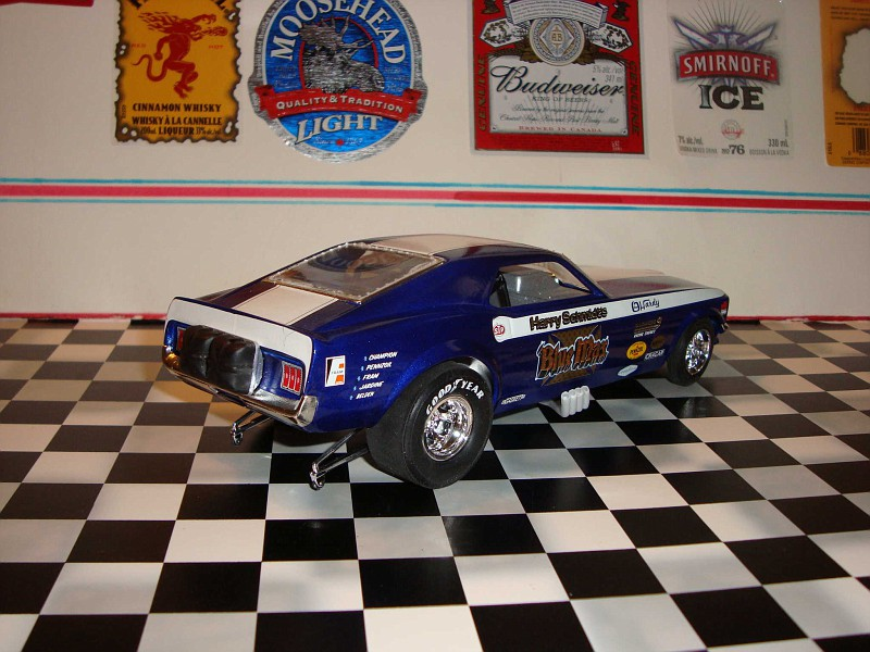 Zbuckster's Model Cars - Blue Max 1970 Funny Car