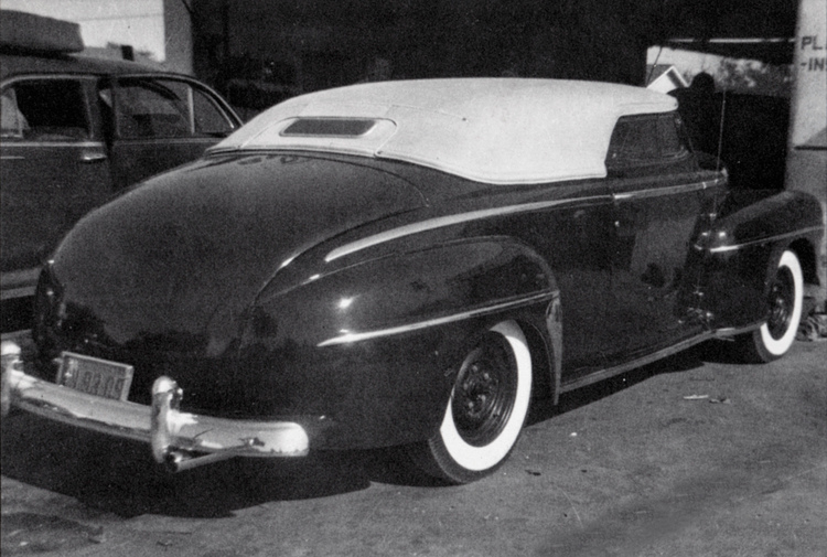 BARRIS KUSTOM CITY BLOG: THE RIK HOVING FILES: 1947 Ford Convertible Owner Unknown...