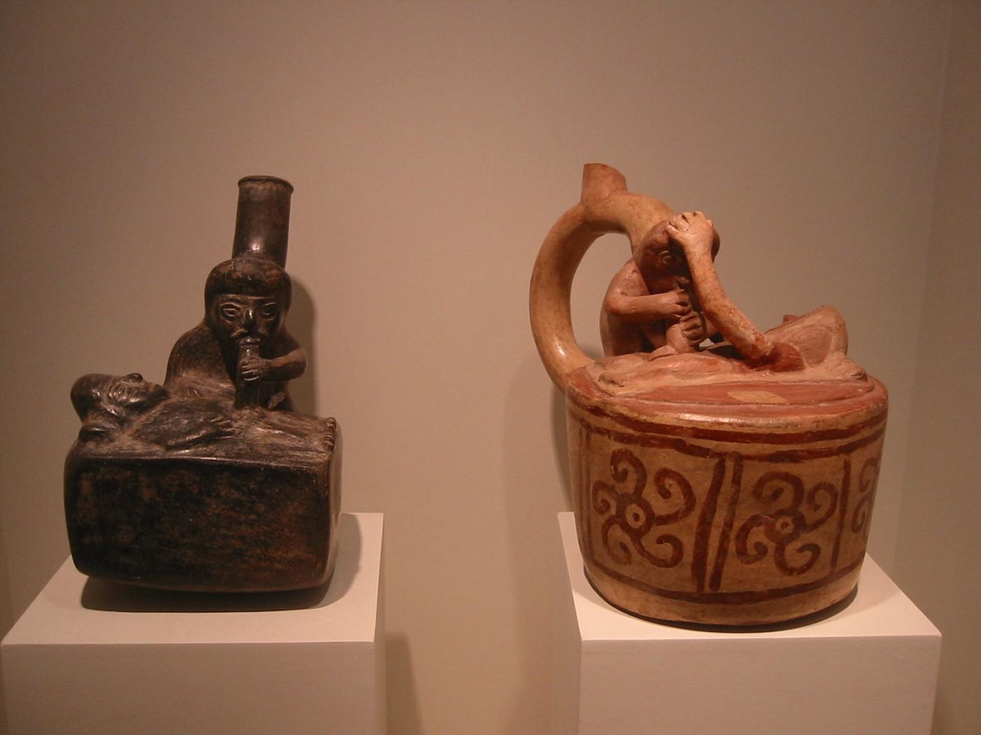 Lima, Museo Larco, sala Erotica
