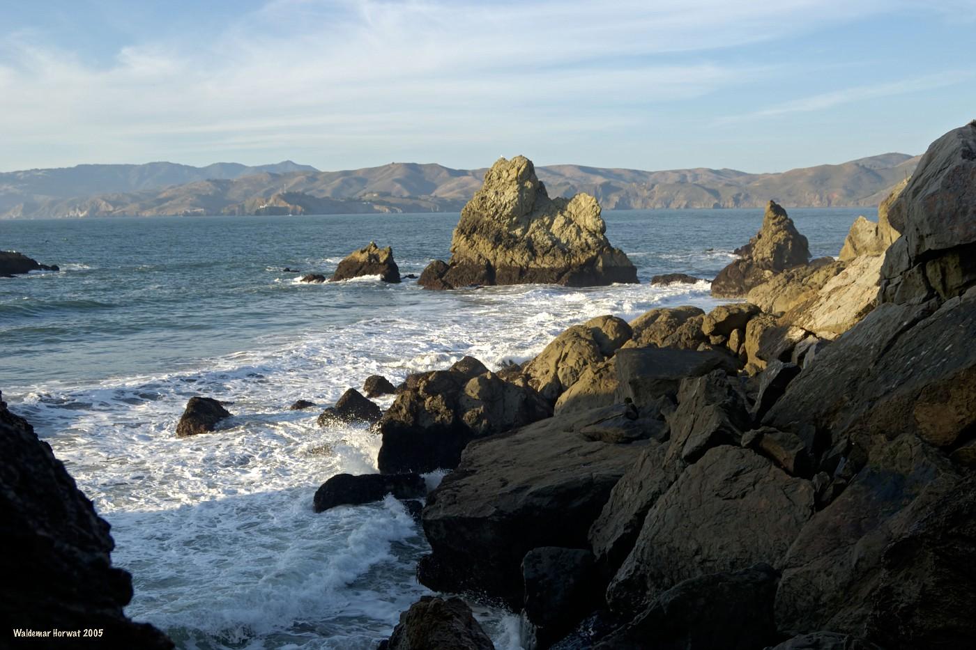 Rocks at Land's End