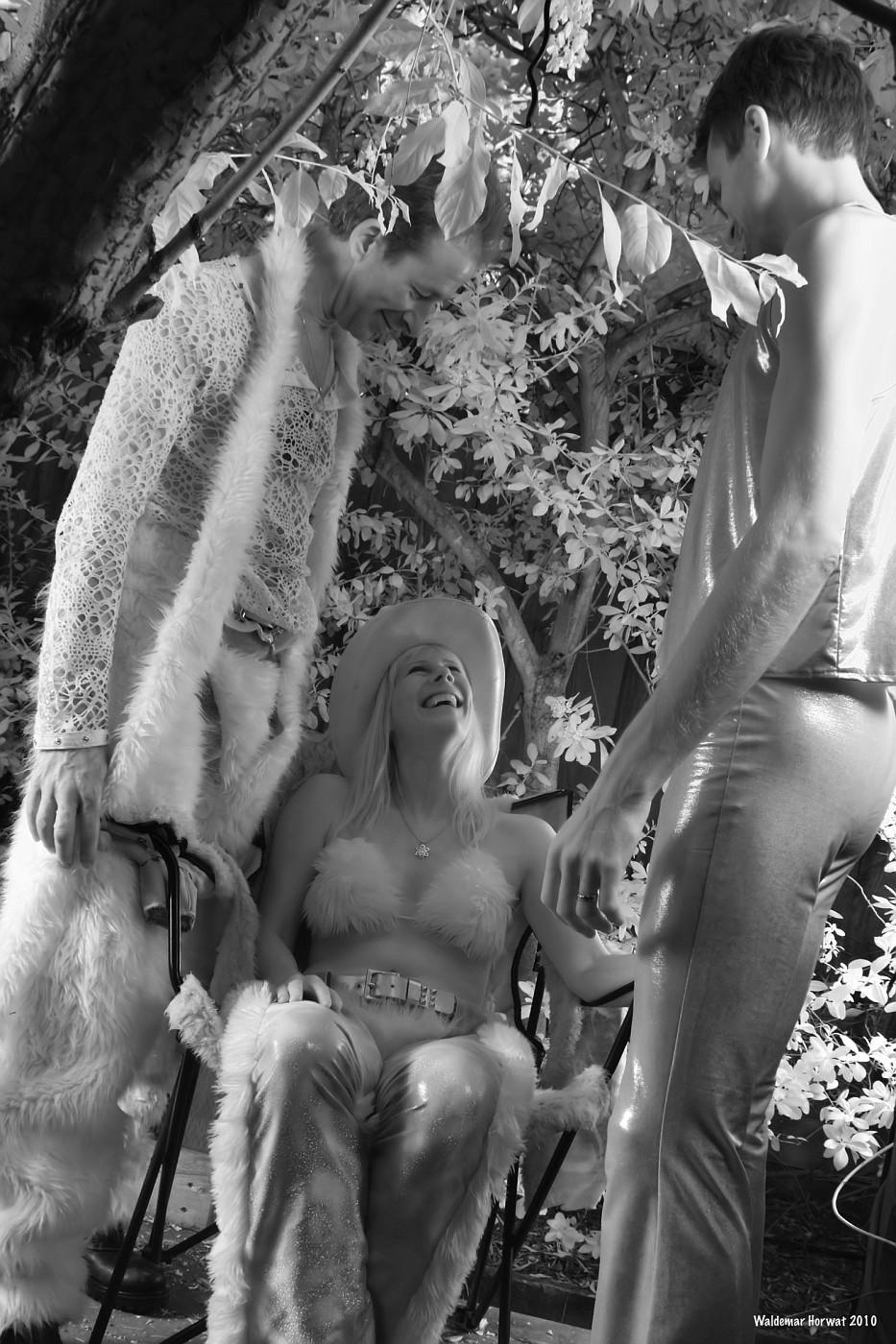 Arthur, Glow Girl, and Meerkat