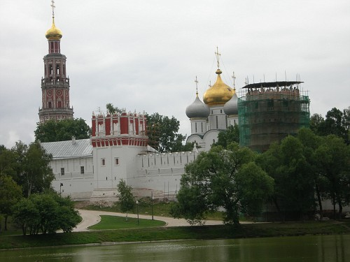 Moscow, New Maidens Convent - Front Again