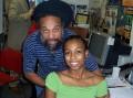 Messen Jah & daughter Jaleesa