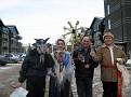 Колядовщики на улицах Эдмонтона