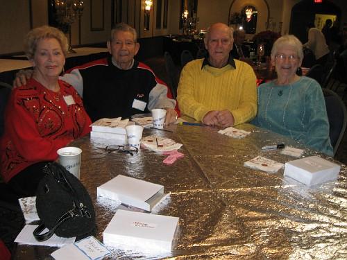 Doloris & Bob Berg, Ed & Helen Hahler