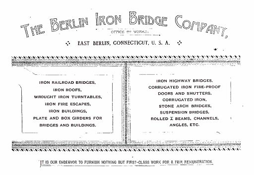 BERLIN IRON BRIDGE CO  - PAGE 001