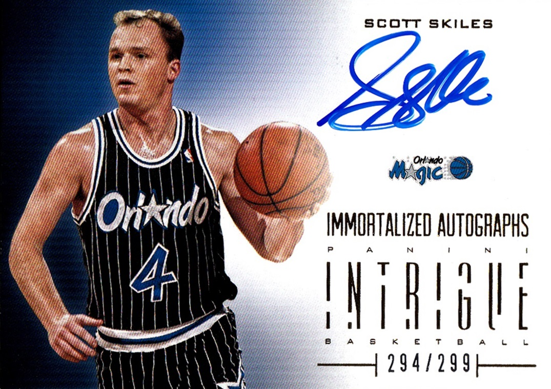 2012-13 Panini Intrigue Immortalized Autographs #23 (1)