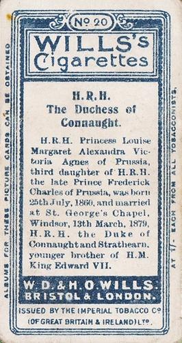 1908 Wills European Royalty #020 (2)
