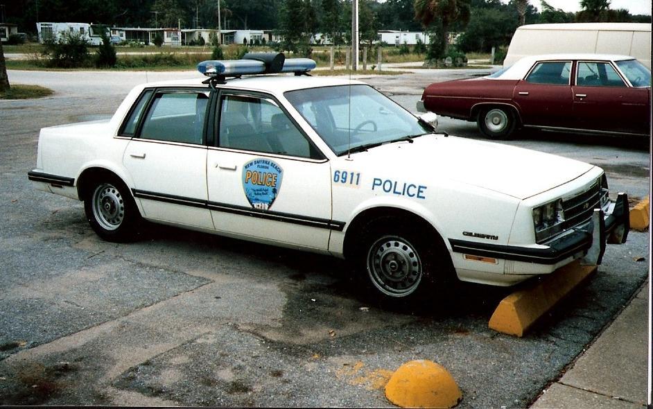 Photo Fl New Smyrna Beach Police 1984 Chevy Celebrity