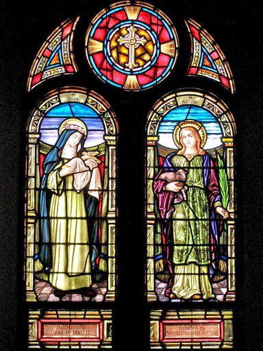 SAINT ANN'S CHURCH - STAINED GLASS - 38