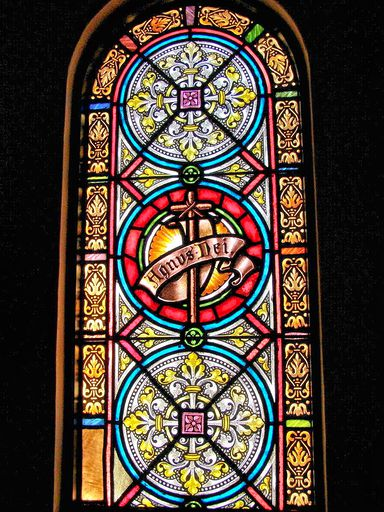 SAINT ANN'S CHURCH - STAINED GLASS - 56