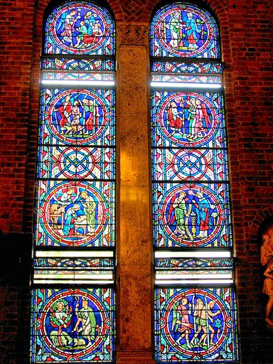 SAINTS PETER AND PAUL CHURCH - STAINED GLASS - 11
