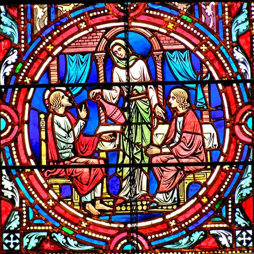 SAINTS PETER AND PAUL CHURCH - STAINED GLASS - 51