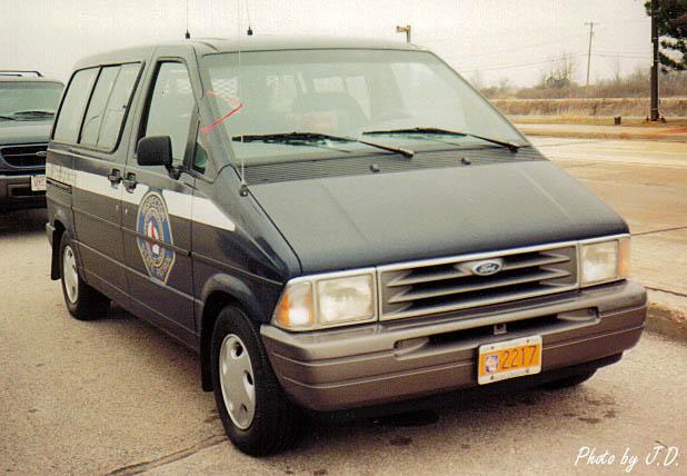 '93 Ford Aerostar minivan.