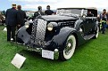 1937 Packard 1507 Convertible Sedan front exterior view