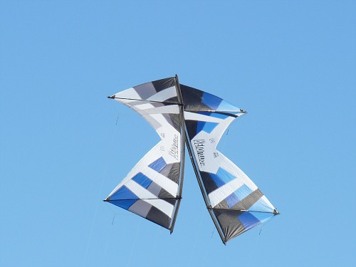 Saturday -- Kite romance.