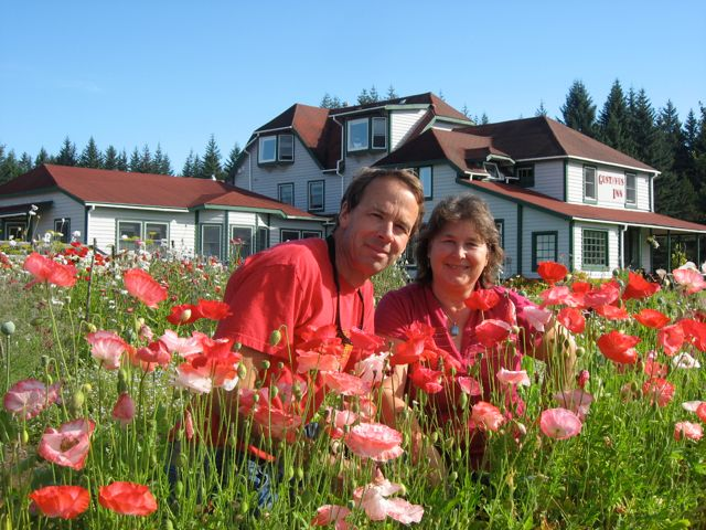 Your hosts, innkeepers Dave and JoAnn Lesh