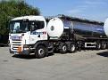 NK57 DDJ   Scania R 420 6x2 unit