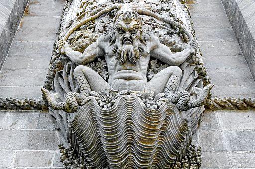 Sculpture of Triton