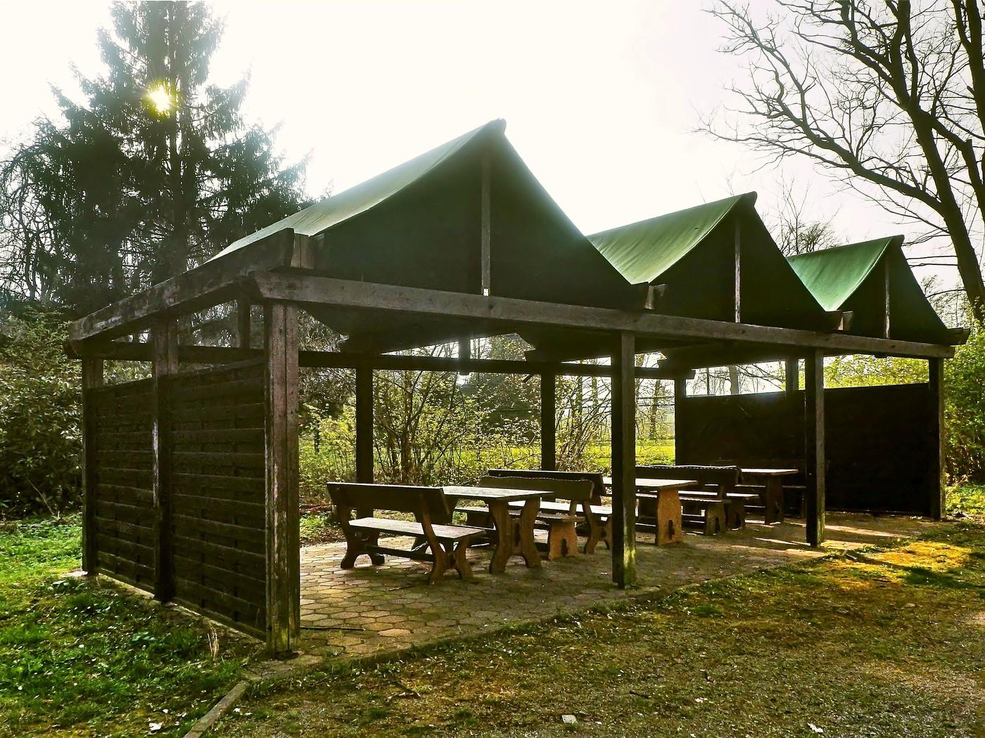 Picknickplatz im Schlosspark