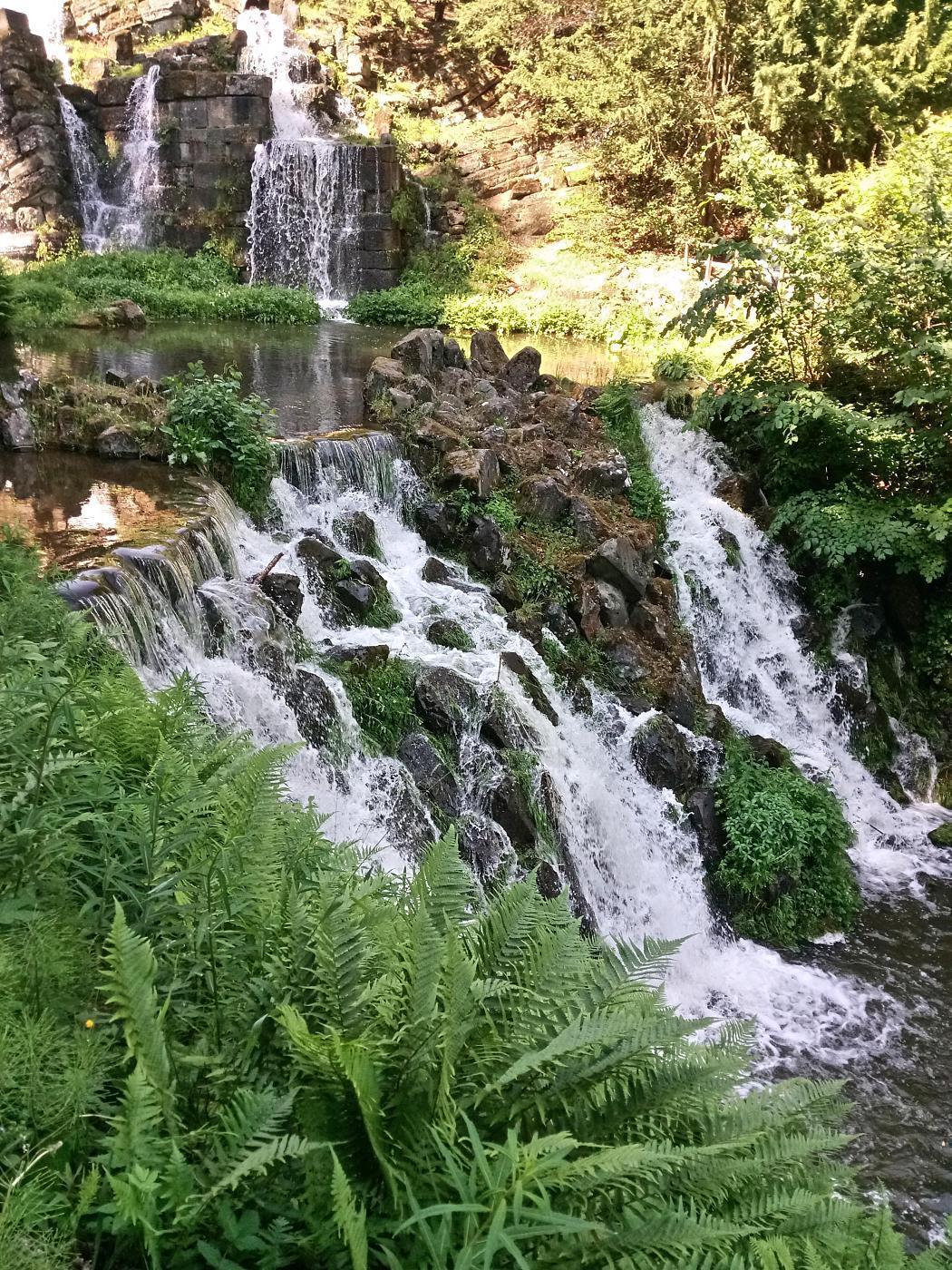 Aquädukt Wasserfall