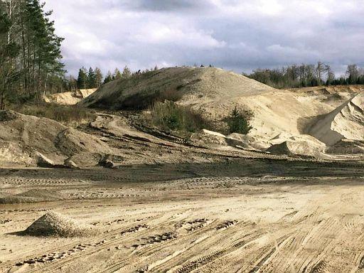 Sand- und Kiesabbau