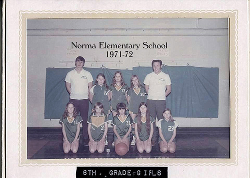 6-Memories of Norma School Basketball - Kathy Lay