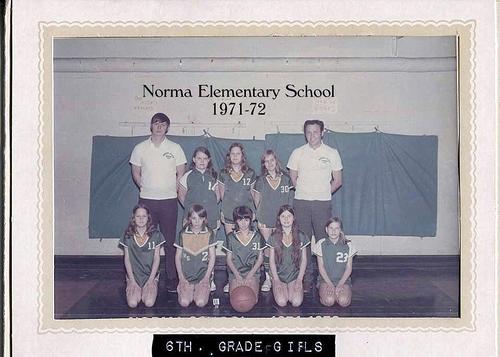 6-Memories of Norma School Basketball - Kathy Lay