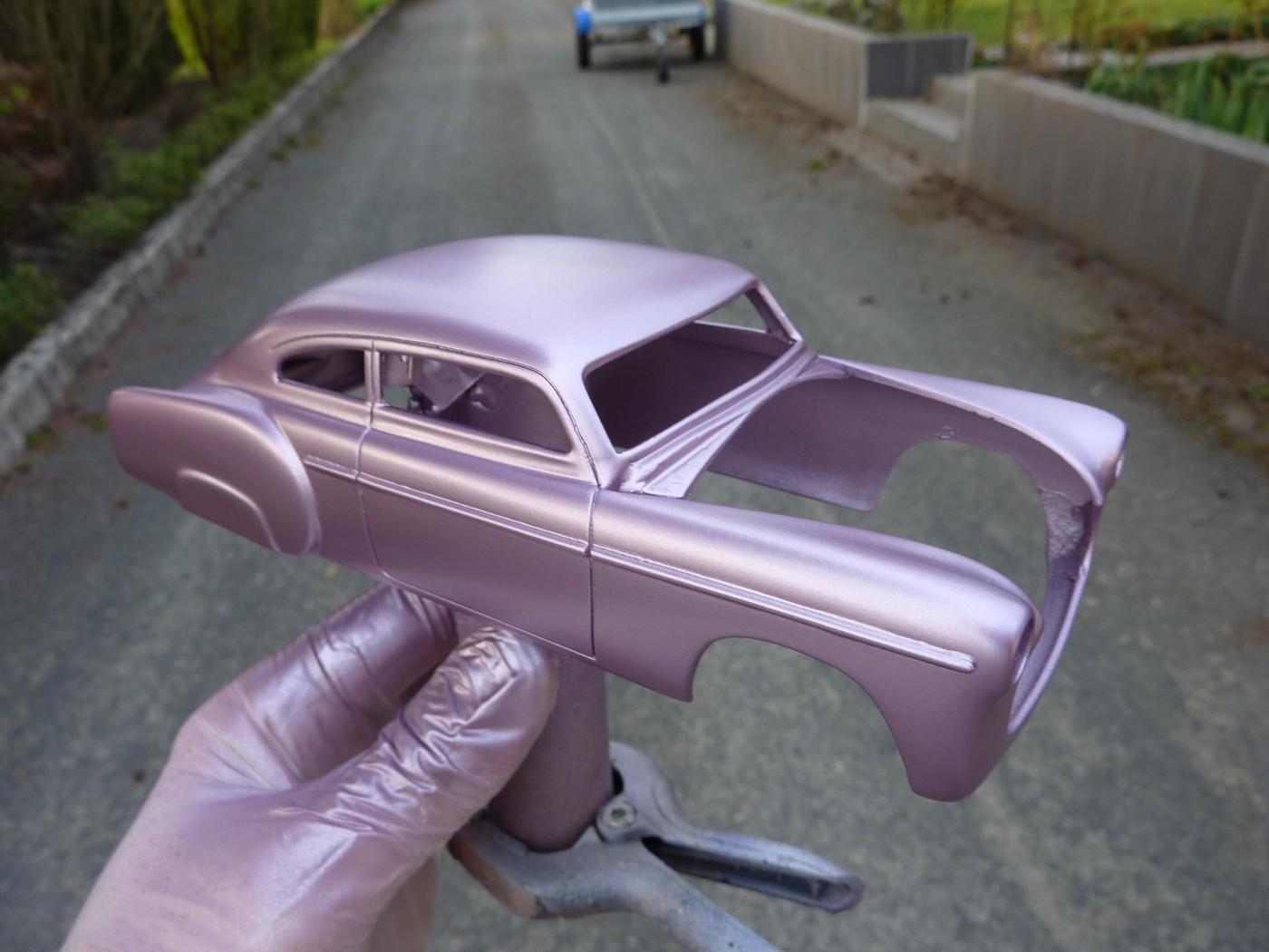 Refection complete d'une ancienne Chevy 51 Fleetline terminée Photo18-vi