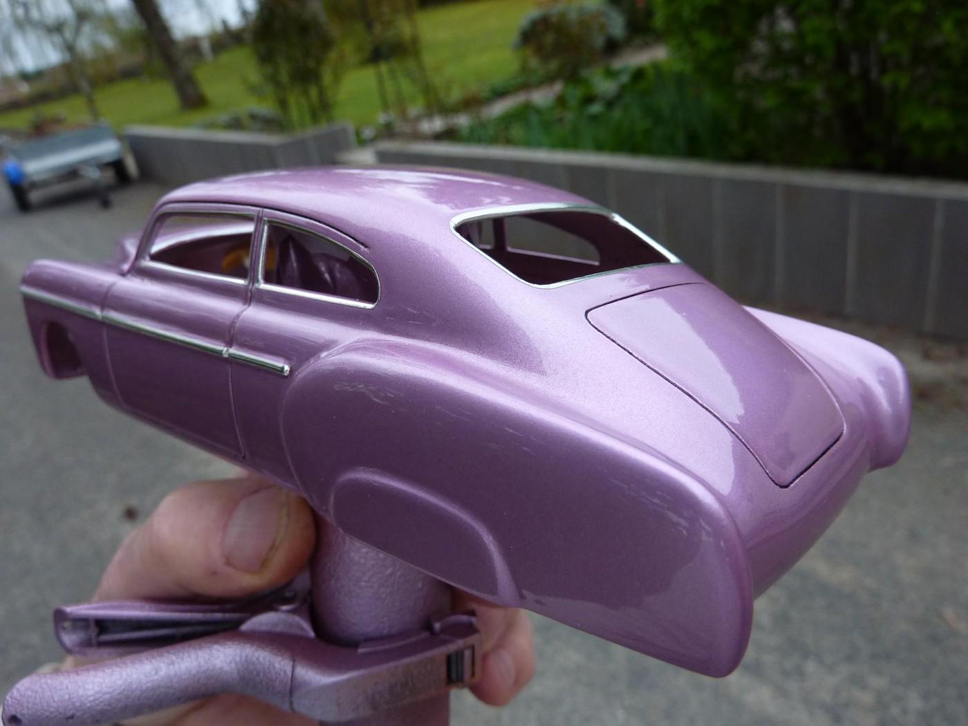 Refection complete d'une ancienne Chevy 51 Fleetline terminée Photo29-vi
