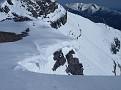 An interesting cornice on the ridge