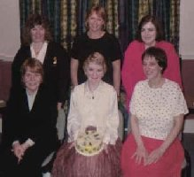 Pam Massey, Elaine Williams, Sue Alexander, Carole Tasker, Beryl Harwood, Kate Mottram