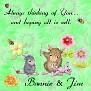 Bonnie & Jim Sew thinking of you