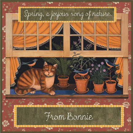 from bonnie    a joyous song
