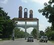 Entrance gate Cayes